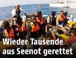 Flüchtlinge in Seenot