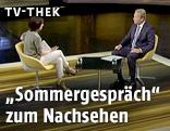 Eindrücke vom Sommergespräch mit Vizekanzler Reinhold Mitterlehner