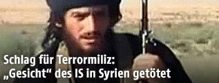 IS-Sprecher Abu Mohammed al-Adnani
