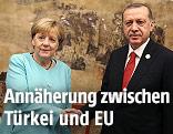 Recep Tayyip Erdogan Angela Merkel