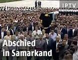 Begräbnis des usbekischen Präsidenten Islam Karimow