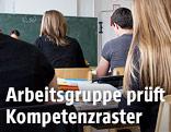Schüler während dem Unterricht