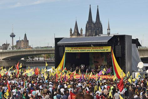 Demo in Köln