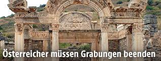 Ausgrabunsstätte in Ephesus