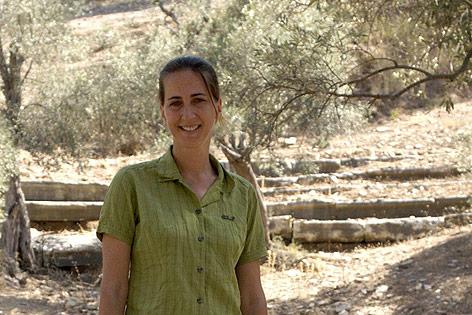 Die Leiterin der  oesterreichischen archaeologischen Grabung in Ephesos, Sabine Ladstaetter