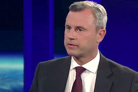 Bundespräsidentschaftskandidat Norbert Hofer