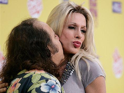Ron Jeremy und Alexis Arquette