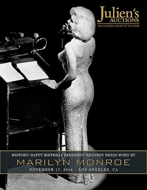 Marilyn Monroe in einem engen Kleid
