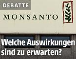 Monsanto-Schild