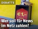 Zahlstelle für Zeitungen