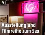 """Austellungsansicht von """"Sex in Wien"""""""
