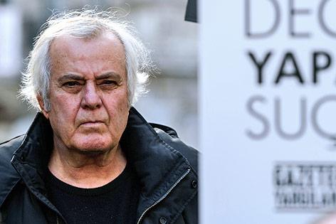 Der türkische Schauspieler und politische Aktivist Tarik Akan