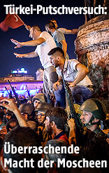 Demonstranten auf dem Taksim-Platz
