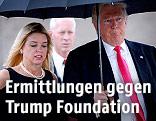 Donald Trump und Pam Bondi