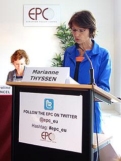 Politikerin Marianne Thyssen