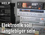 Alte Elektronikgeräte