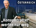 Sepp Eisenriegler in seiner Werkstatt