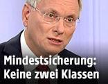 """Sozialminister Alois Stöger (SPÖ) in der ORF-""""Pressestunde"""""""