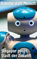 Ein IBM Watson Roboter