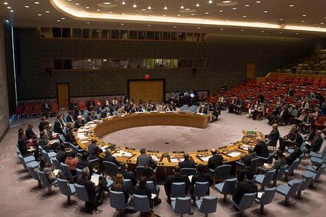 Sitzung der Vereinten Nationen