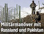 Soldaten bei einer Militärübung in Pakistan