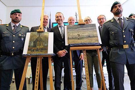 Präsentation der gefundenen Van-Gogh-Gemälde