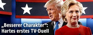 Hillary Clinton und Donald Trump