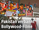 Bollywood-Poster an einer Wand