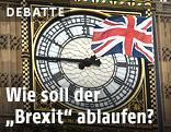 Big Ben und die britische Flagge