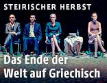 Die Athener Theatertruppe Blitz Theatre Group