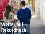 Jugendliche auf der Straße