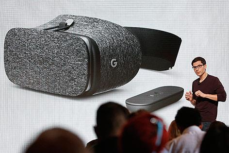 Google stellt neue Daydream VR-Brille vor