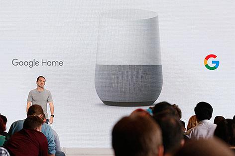 Google stellt neuen vernetzten Lautsprecher Home vor