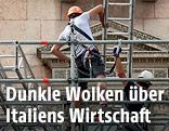 Italienische Bauarbeiter