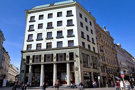 Loos-Haus am Michaelerplatz in Wien