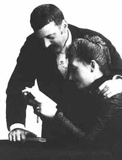 Karl Wittgenstein mit seiner Ehefrau Leopoldine