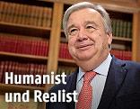 Chef des UNO-Flüchtlingshilfswerks UNHCR Antonio Guterres
