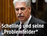 Finanzminister Hans Jörg Schelling während der Budgetrede