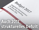Transkript der Budgetrede des Finanzministers Hans Jörg Schelling