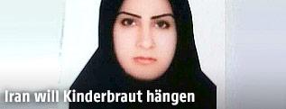 Passfoto der Iranerin Seinab Sekaanwand