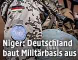 Ein deutscher UN-Soldat