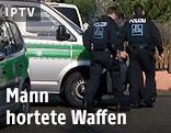Polizei am Tatort