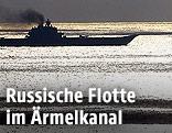 Russischer Flugzeugträger im Ärmelkanal