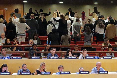 Protest bei Kür von Wonder Woman zu UNO-Botschafterin
