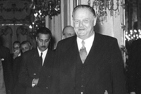 Julius Raab, 1957