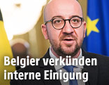 Belgiens Prermierminister Charles Michel