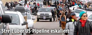 Proteste gegen Pipeline