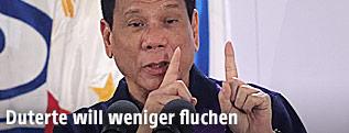 Philippinischer Präsident Rodrigo Duterte