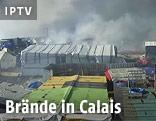 Brände in Calais