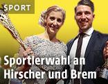 Marcel Hirscher and Eva-Maria Brem
